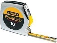"""33-115 Stanley Powerlock Pocket Rule 1/4"""" wide blade"""
