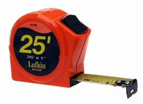 "HV1425D Lufkin  1"" x 25' Hi-Viz Orange Series 1000 Power Tape"
