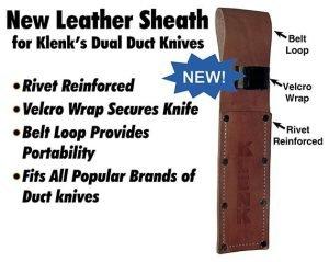 Klenk DM90110 Leather Knife Sheath
